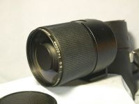 '         500MM  Contax Yashica Fit '  500mm F8 Prime Supertele Lens  Cased £49.99